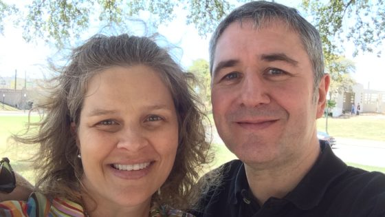 Success story: Robert and Amy share their tale of romance!