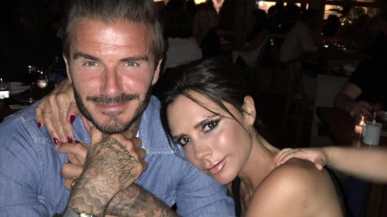A look through the Beckham relationship